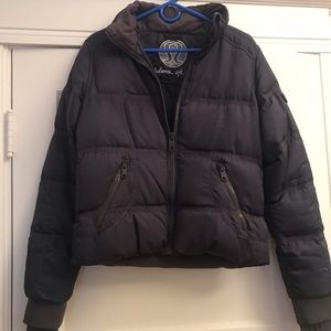 Lululemon bomber/puffer jacket w/ removable hood